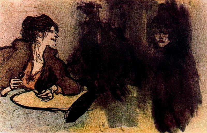 Пабло Пикассо. Две женщины