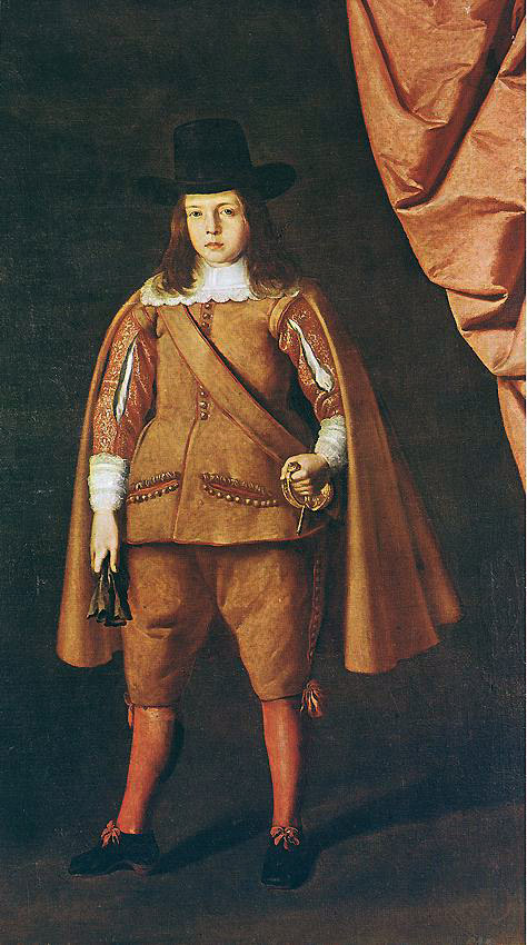 Франсиско де Сурбаран. Портрет герцога Мединачали