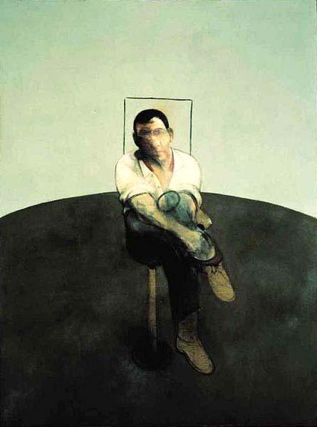 Фрэнсис Бэкон. Сидящий мужчина