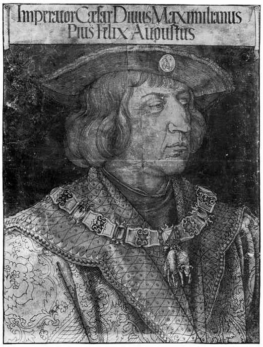 Альбрехт Дюрер. Портрет императора Максимилиана I