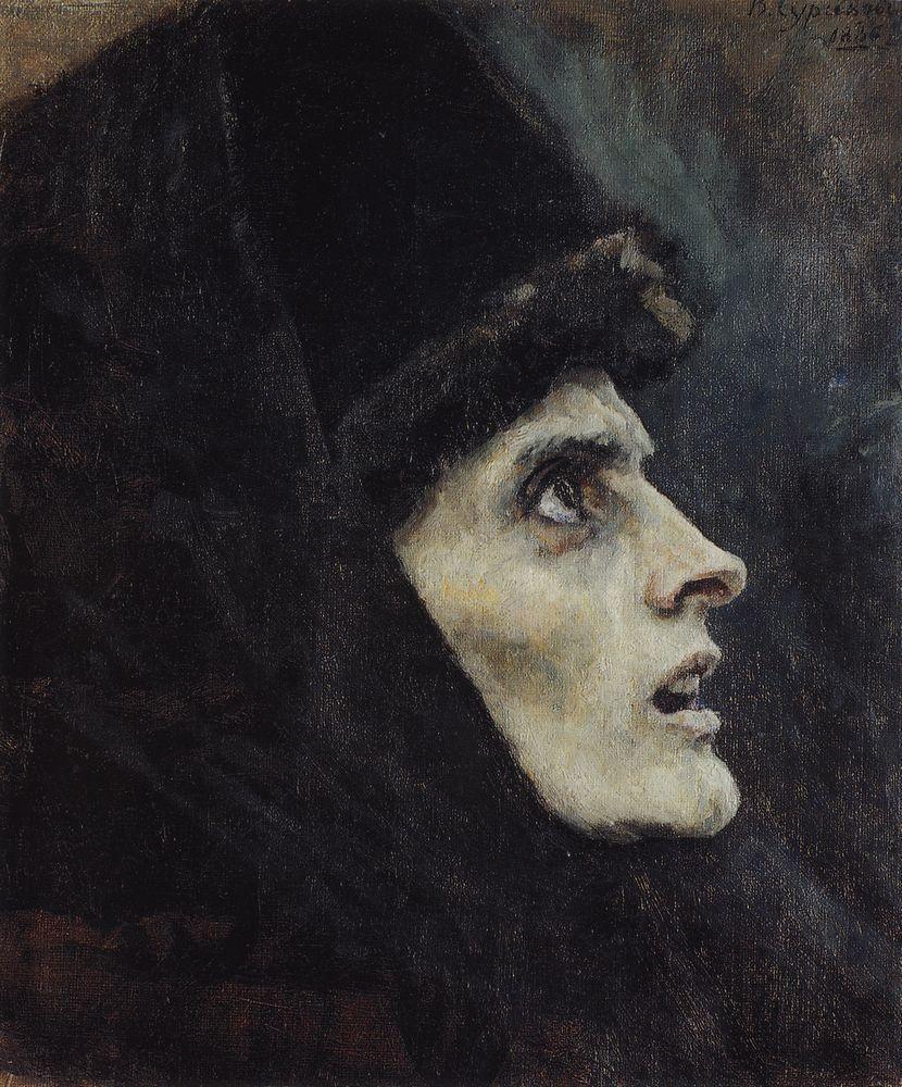 Василий Иванович Суриков. Голова боярыни Морозовой