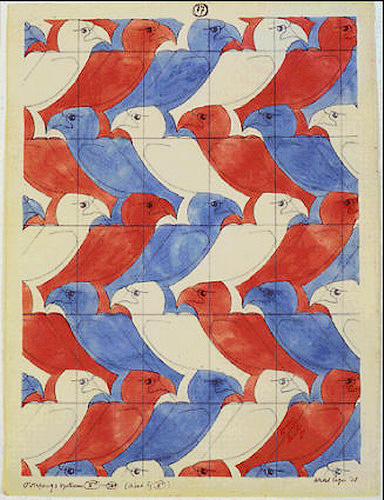 Maurits Cornelis Escher. Eagle (№ 17)