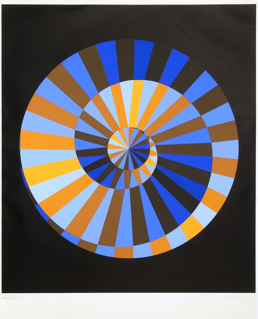 Victor Vasarely. Munich Olympics