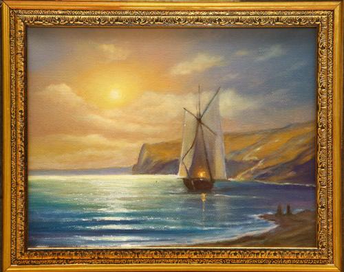 Michael Sakharov. Evening breeze