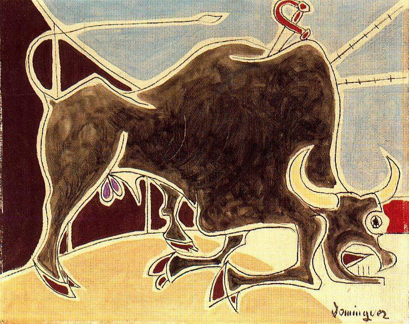 Oscar Dominguez. Bull