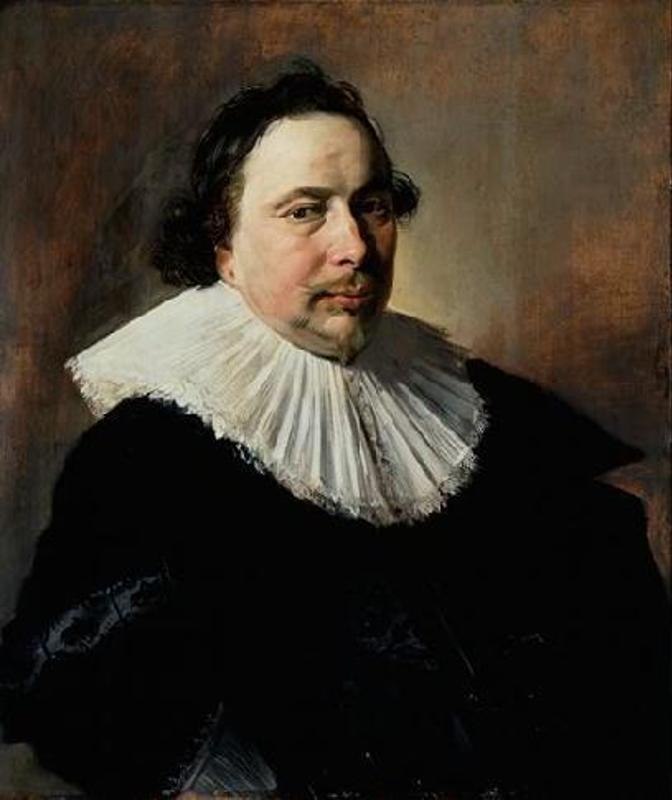 Frans Hals. Portrait of an unknown Man