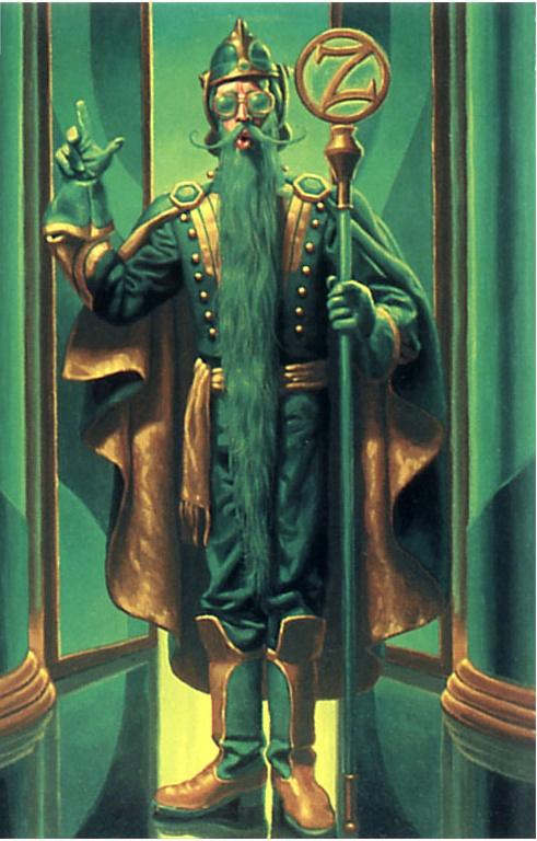 Грег Хильдебрандт. Волшебник