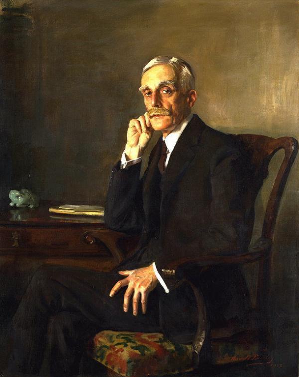 Oswald Birli. Portrait Of Andrew W. Mellon