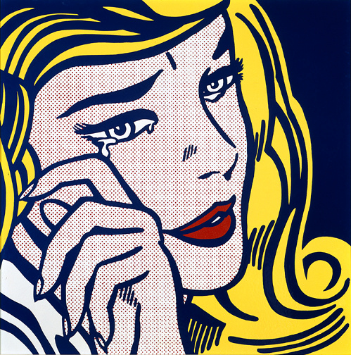 Roy Lichtenstein. Weeping girl