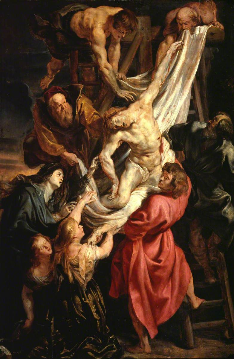 Питер Пауль Рубенс. Снятие с креста. Эскиз