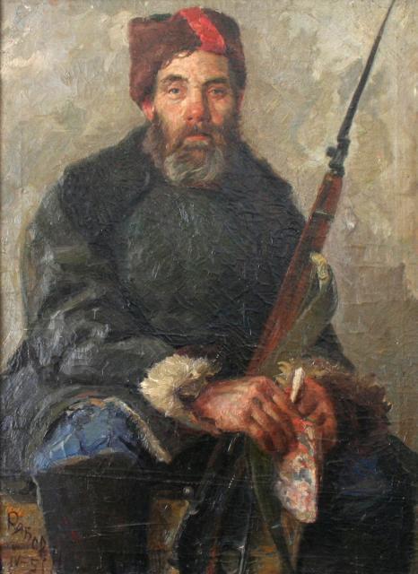 Николай Петрович Рябов. Портрет партизана