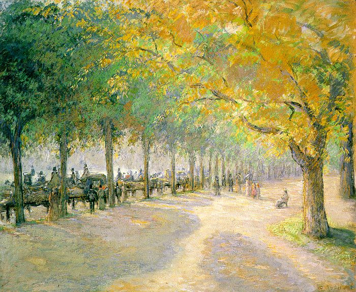 Камиль Писсарро. Гайд-парк, Лондон