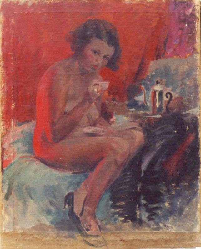 Pavel Petrovich Benkov. Nude Model