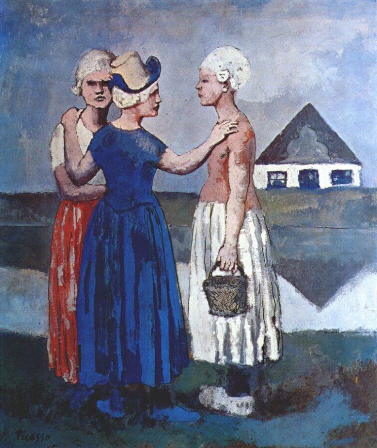 Пабло Пикассо. Три голландские девушки