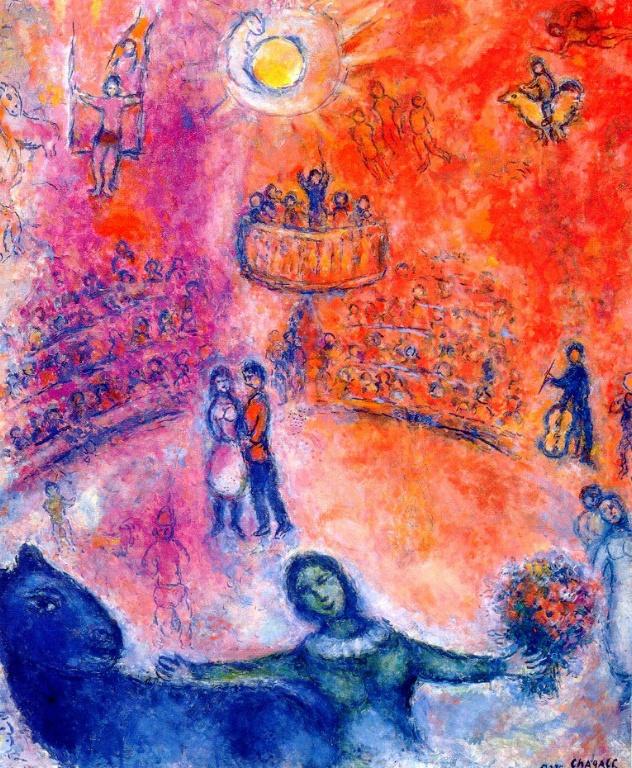 Marc Chagall. Circus