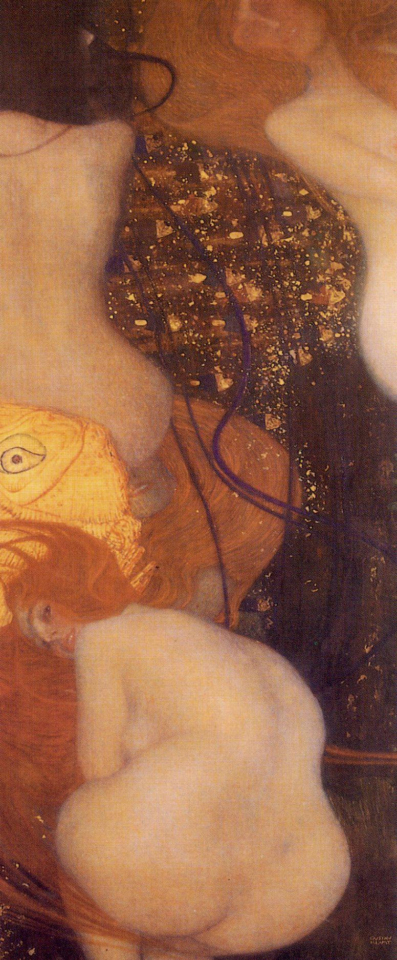 Gustav Klimt. Goldfish