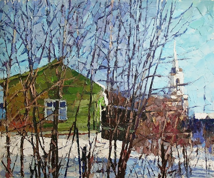 Михаил Рудник. Suzdal. Winter