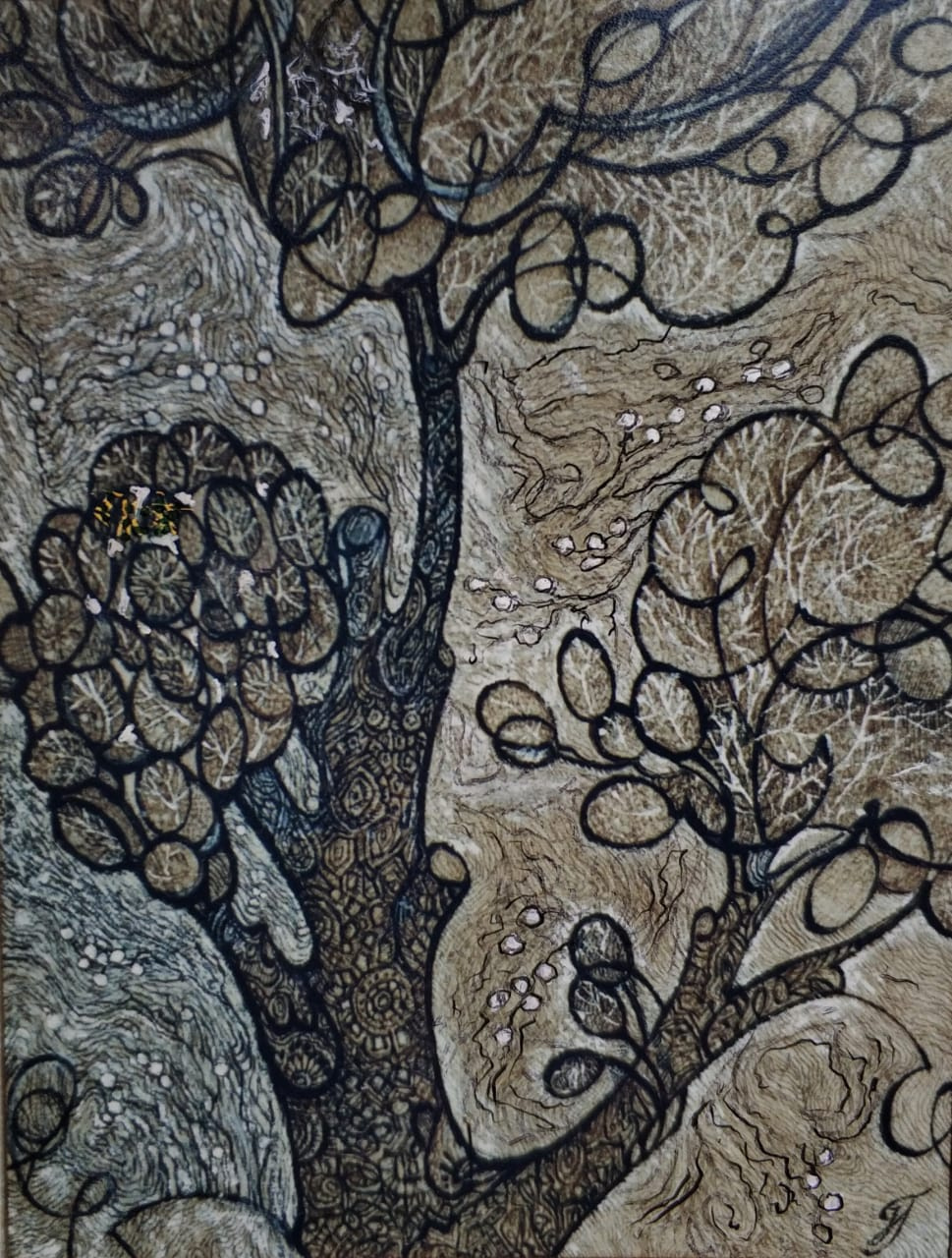 Natalia Nikolaevna Guller. Spring. Willow