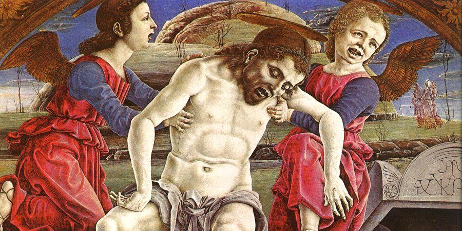 Козимо Тура. Снятие с креста