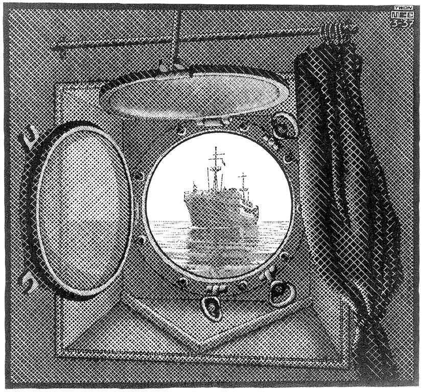 Maurits Cornelis Escher. Porthole