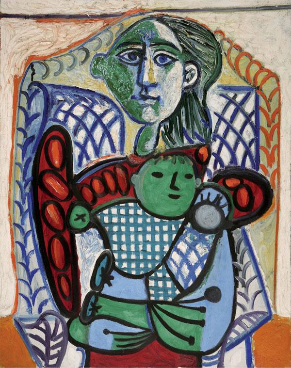 Пабло Пикассо. Материнство