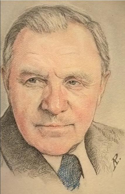 Anatoly Alexandrovich Rybakov. Actor Mikhail Ulyanov