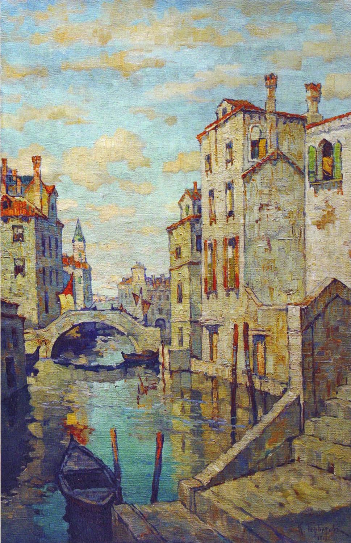 Konstantin Ivanovich Gorbatov. Venice. 1916.