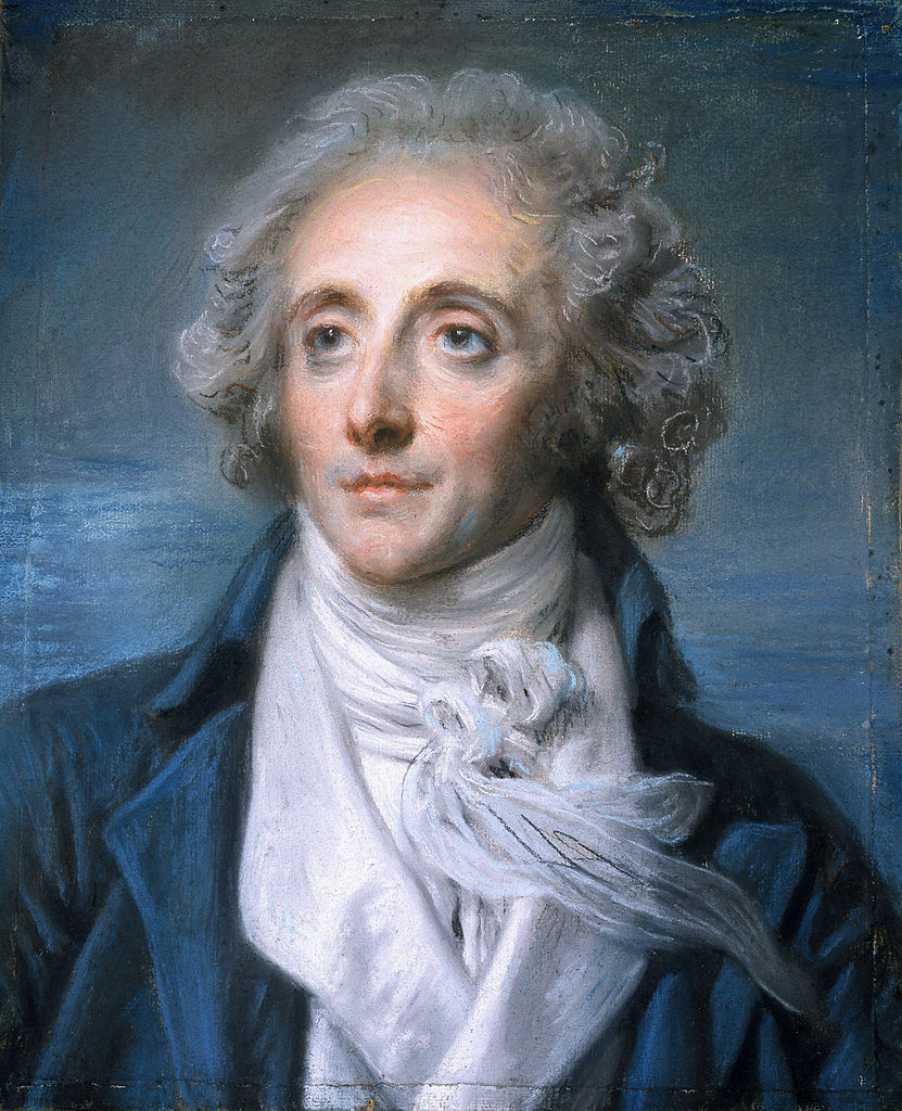 Jean-Baptiste Greuze. Portrait Of Nicolas Anselm