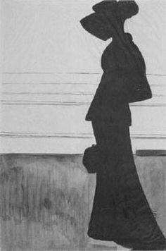 Леон Спиллиарт. Woman with a Large Hat