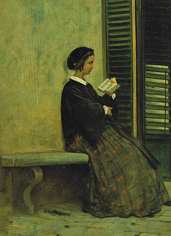 Reading by Silvestro Lega: History, Analysis & Facts