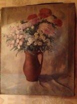 (Стаатс) А. А. Штац. Букет цветов