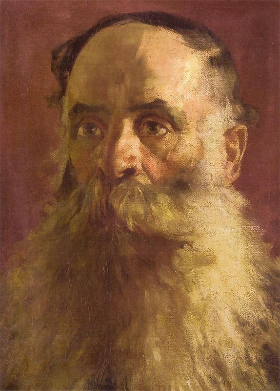 Ян Матейко. Портрет старца