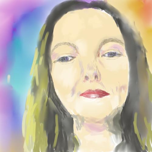 Gulnara Gafarova. Self-portrait