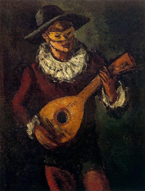 Артуро Соуто. Мужчина в черной шляпе и маске