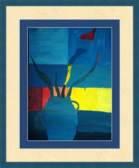 Art-Teodor Gallery. Still life with vase