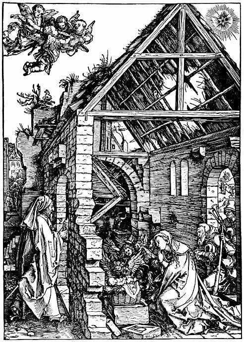 Альбрехт Дюрер. Рождество Христа