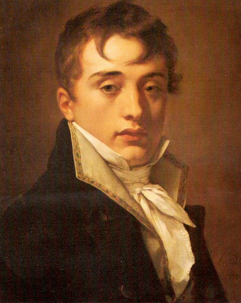 Пьер-Поль Прюдон. Мужской портрет