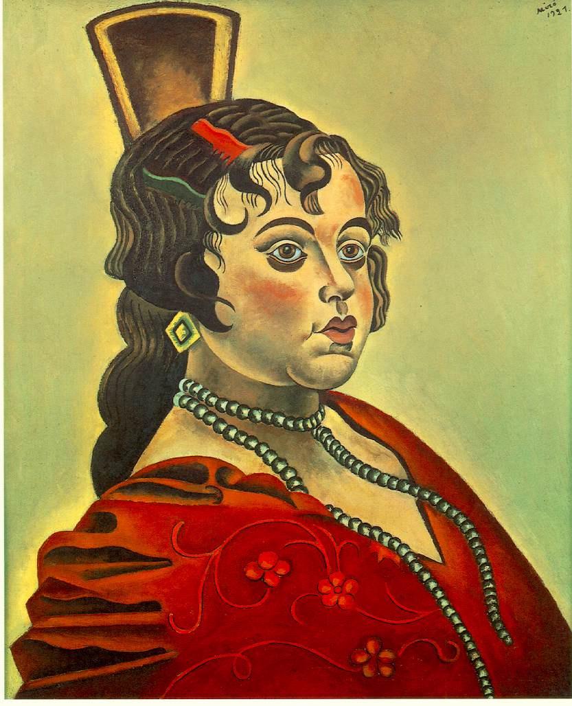 Joan Miro. Portrait of a Spanish dancer