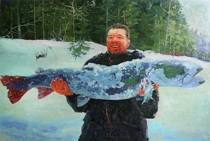 Михаил Рудник. Рыбак
