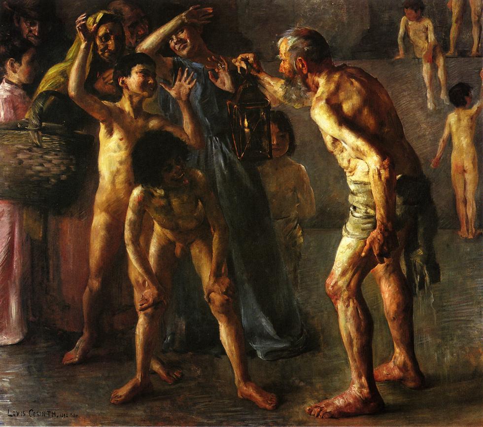 Lovis Corinth. Diogenes