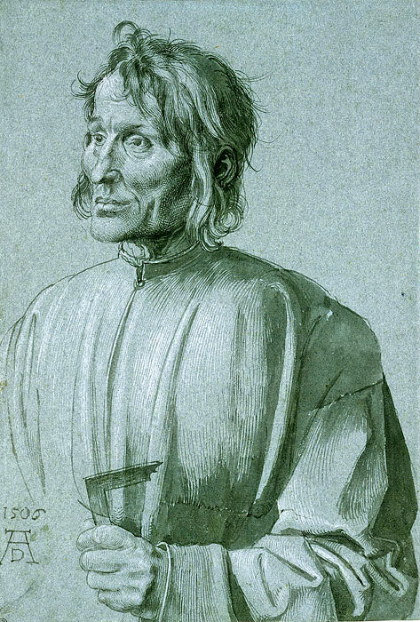 Albrecht Durer. Portrait of the architect Hieronymus of Augsburg