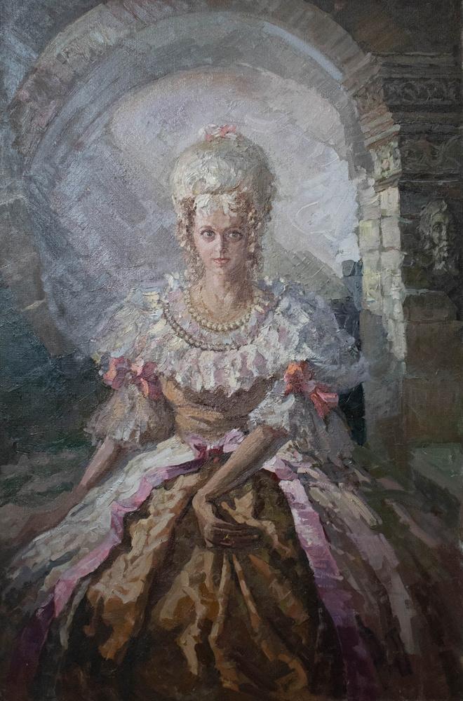 Alexey Alekseevich Drilev. Princess Tarakanova
