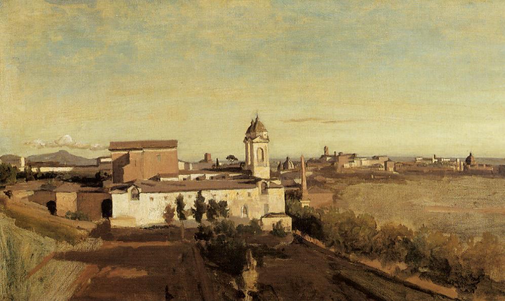 Камиль Коро. Рим