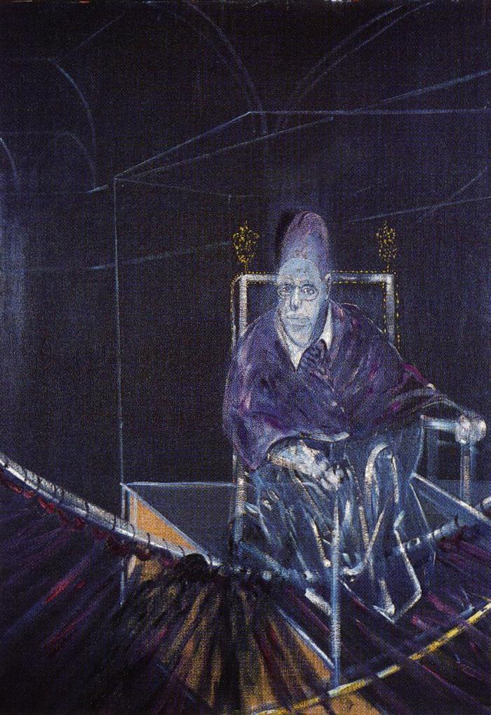 Фрэнсис Бэкон. Мужчина на стуле