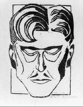 Мауриц Корнелис Эшер. Портрет мужчины