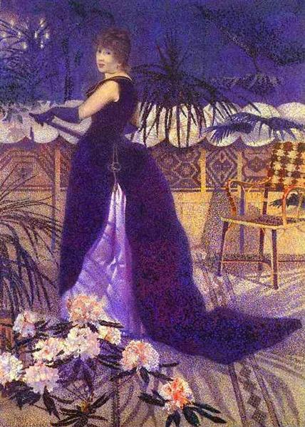 Henri Edmond Cross. Madame Hector France