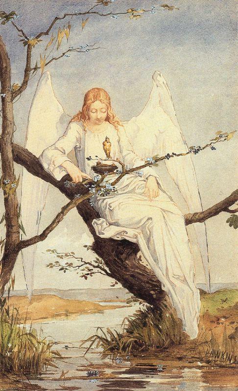 Louis Welden Hawkins. Angel