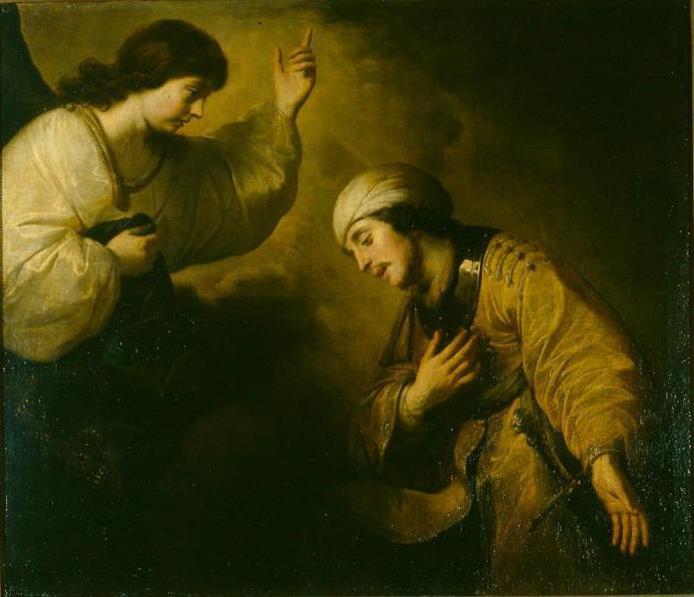 Якоб Адрианс Баккер. Явление ангела сотнику Корнилию