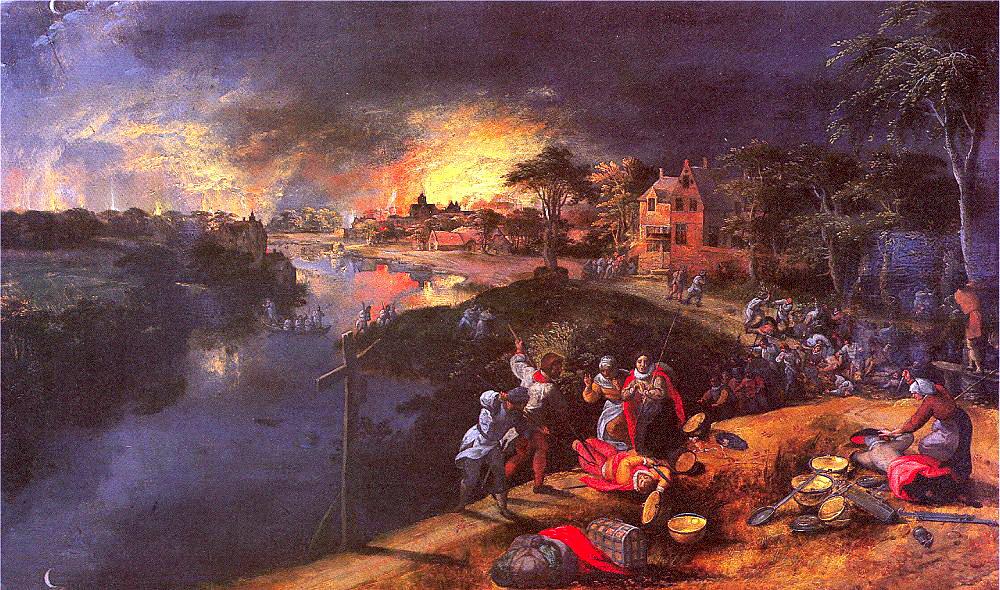 Гиллис Мостпаепт. Огненное небо