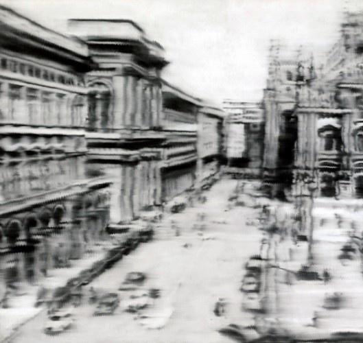 Герхард Рихтер. Площадь перед Миланским собором